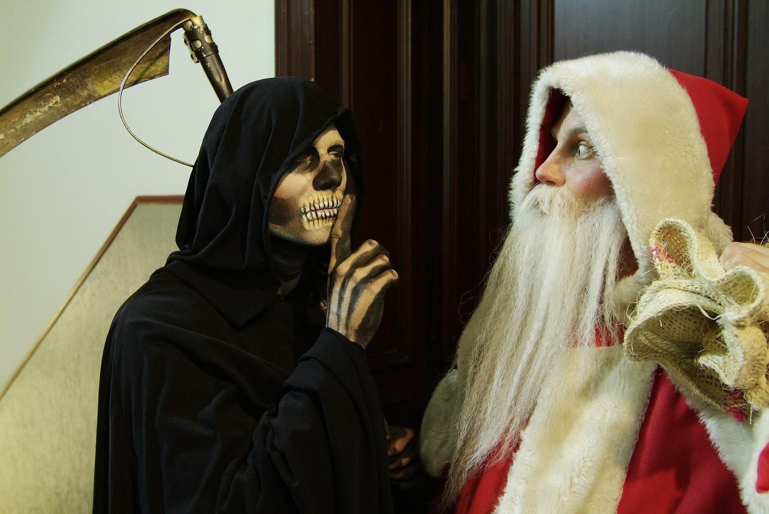 Weihnachtsmann und der Tod-original